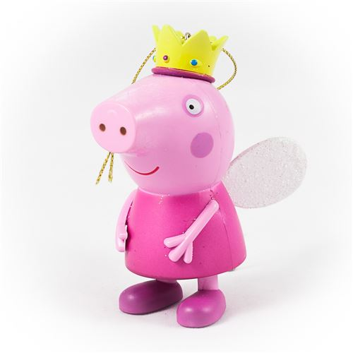 Suspension Peppa Pig et sa couronne